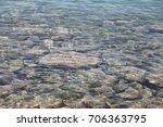 stones in water | Shutterstock . vector #706363795
