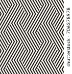 vector seamless pattern. modern ... | Shutterstock .eps vector #706378978