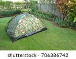 Tent Camping Wild Camouflage...