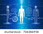 abstract background technology... | Shutterstock .eps vector #706386958