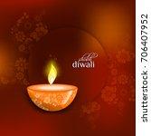 diwali sale  diwali special... | Shutterstock .eps vector #706407952