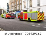 fire rescue and ambulance... | Shutterstock . vector #706429162