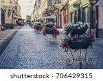 chernivtsi  ukraine   july 2017 ... | Shutterstock . vector #706429315