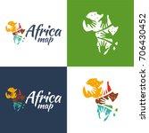 africa map   vector... | Shutterstock .eps vector #706430452