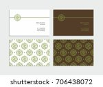 business card  corporate... | Shutterstock .eps vector #706438072