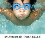 Underwater Healthy Active Youn...