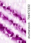 vertical banner of polygonal... | Shutterstock . vector #706472332