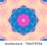 seamless multicolored... | Shutterstock . vector #706479556