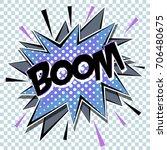 cartoon comic graphic design... | Shutterstock .eps vector #706480675