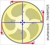 angular velocity   Shutterstock .eps vector #706489525