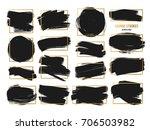 vector strokes. abstract... | Shutterstock .eps vector #706503982