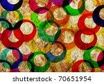 Colorfull Rings Vintage ...