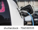 loading energy of an electric... | Shutterstock . vector #706530535
