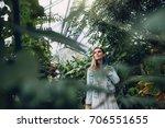Female Gardener In Plant...
