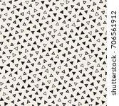 seamless primitive jumble... | Shutterstock .eps vector #706561912