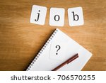 search or choose a job. ... | Shutterstock . vector #706570255