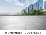 panoramic skyline and buildings ... | Shutterstock . vector #706576816
