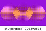 purple vector abstract pattern... | Shutterstock .eps vector #706590535