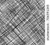 cross hatching hand draw slant... | Shutterstock .eps vector #706591345