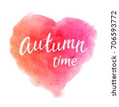Autumn Time. Greeting Card Wit...