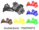 latvia map vector illustration  ...   Shutterstock .eps vector #706594072