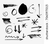 Vector Set Of Symbols And...