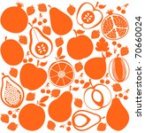 Vector Fruit Background