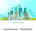 green energy and eco friendly... | Shutterstock .eps vector #706636462