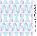 diamond argyle seamless... | Shutterstock .eps vector #706647436