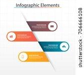 infographic business  timeline...   Shutterstock .eps vector #706666108