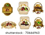 label | Shutterstock .eps vector #70666963
