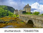 Small photo of Eilean Donan Castle of Scotland - Allegedly the most photographed castle in the world