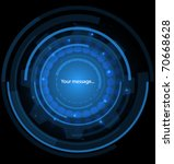 abstract technology background | Shutterstock .eps vector #70668628