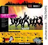 website design template  vector. | Shutterstock .eps vector #70670491