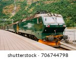 Flam  Norway. Famous Railroad...