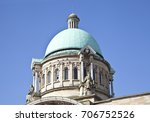 roof dome on top of the city... | Shutterstock . vector #706752526