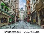 istanbul  turkey   may 1  2017  ... | Shutterstock . vector #706766686