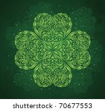 Pattern In A Shape Of A Clover...