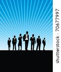 business people background | Shutterstock .eps vector #70677997