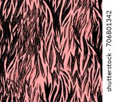 Animal Seamless Pattern. Zebra...