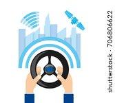autonomous car design   Shutterstock .eps vector #706806622
