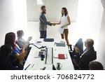 startup business team... | Shutterstock . vector #706824772