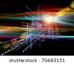 interplay of words and forms in ... | Shutterstock . vector #70683151