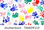 Hands Is Colorful Colorful Your ...