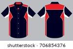sport uniform shirt design   Shutterstock .eps vector #706854376