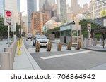 new york  usa   august 25  2017 ...   Shutterstock . vector #706864942