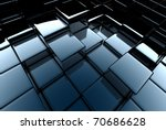3d abstract background | Shutterstock . vector #70686628
