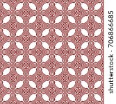 seamless geometric pattern.  ... | Shutterstock . vector #706866685