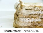 whole wheat bread expired ... | Shutterstock . vector #706878046