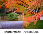 sento imperial palace is japan...   Shutterstock . vector #706880206